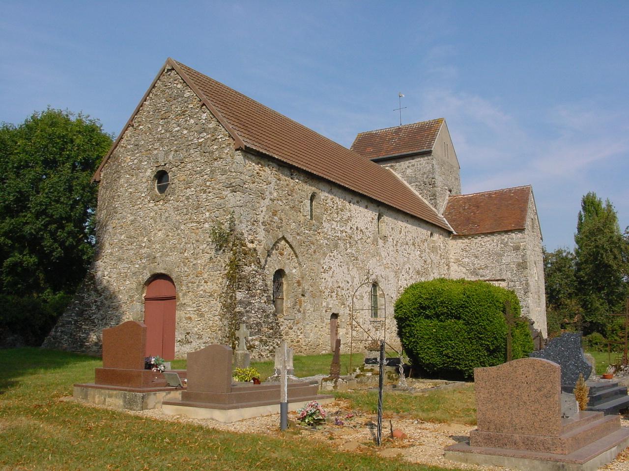 Eglise de la Chapelle ss Orbais