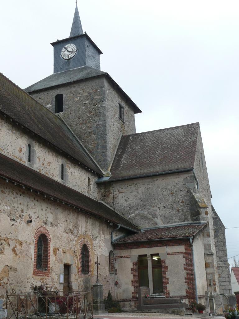 Eglise de Vert la Gravelle